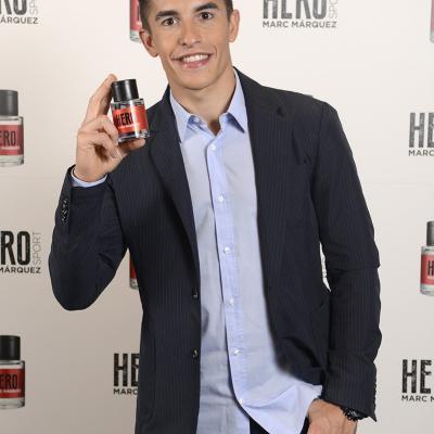 05OCTUBRE2016 Marc Márquez presenta su primera fragancia, Hero Sport.