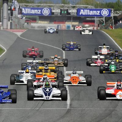 """20FEBRERO2014 """" Gran Premio Banco Madrid de Fórmula 1 Histórica"""" el 4, 5 y 6 de abril, en el Esperit de Montjuïc. Foto: Mikel Prieto."""