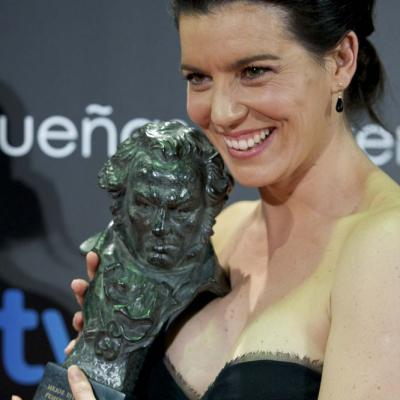 13FEBRERO2011 Laia Marull (Goya a la mejor interpretación femenina de reparto por  Pa negre), ceremonia entrega de los Goya 2011.