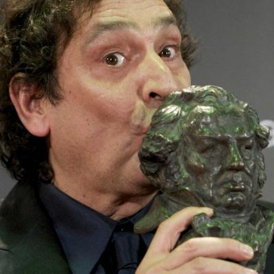 13FEBRERO2011 Agustí Villalonga (Goya a la mejor dirección por Pa negre), ceremonia entrega de los Goya 2011.