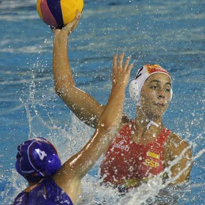 23JULIO2013 Erika Villaécija se queda sin medalla en los 10km. en aguas abiertas. España-Rusia. Foto: BCN2013.