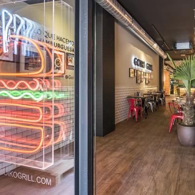 SEPTIEMBRE2017 Homenaje a los mercados de Barcelona con la hamburguesa 'El Mercat'.