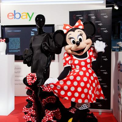 17SEPTIEMBRE2013 Vicky Martín Berrocal presentó su colección inspirada en Minnie Mouse. Foto: Image.