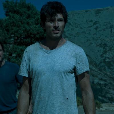 """21AGOSTO2012 Fotograma de la película """"Fin"""". Foto: Sony Pictures."""