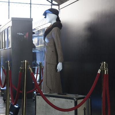 """DICIEMBRE2017 """"Asesinato en el Orient Express"""" Exposición de vestuario en el Museo del Ferrocarril de Madrid."""