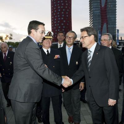 NOVIEMBRE2011 Inauguración del Salón Náutico, exposición en el pabellón y en el Port Vell de Barcelona. Foto:  Salón Náutico.