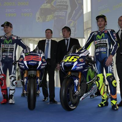 18ENERO2016 Presentación del Equipo Movistar Yamaha de MotoGP.