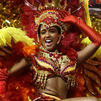 Águia de Ouro Samba School at Carnaval 2011 in São Paulo.Foto: Caio Pimenta/SPTuris