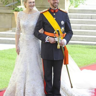 20OCTUBRE2012 El heredero de Luxemburgo se casó ante la realeza mundial. Foto: Agencia.
