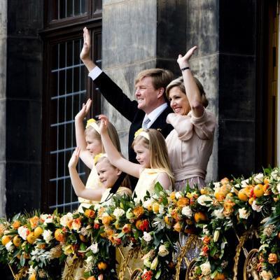 30ABRIL2013 Guillermo y Máxima nuevos reyes de Holanda. Foto Casa Real Holandesa.