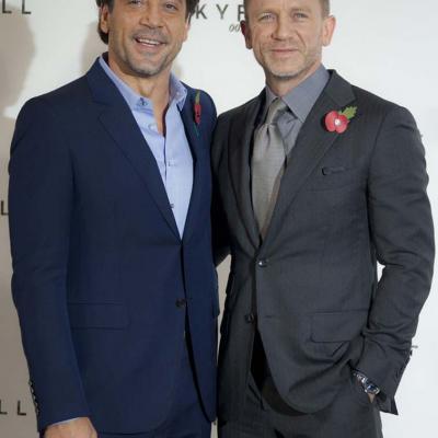 03NOVIEMBRE2011 Presentación en rueda de prensa de la nueva película del agente británico 007. Foto: Sony Pictures.