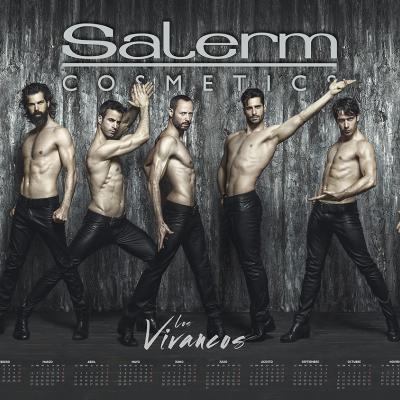17NOVIEMBRE2016 Los Vivancos protagonizan el calendario Salerm Cosmetics 2017.