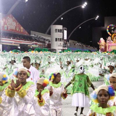 Camisa verde e Branco Samba School at Carnaval 2011 in São Paulo. Foto: Caio Pimenta/SPTuris