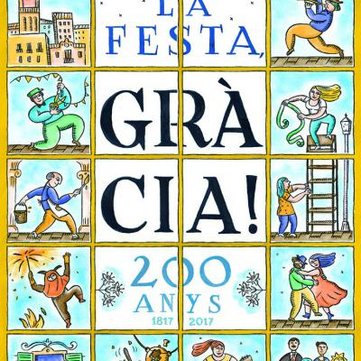 JUNIO2017 Cartel ganador de la Festa Major de Gràcia 2017.