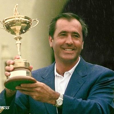 07MAYO2011 Diversas imágenes de la vida del golfista Severiano Ballesteros. Foto: Agencias.