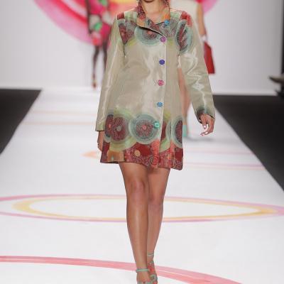 06SEPTIEMBRE2013 Desigual desfiló por primera vez en la Semana de la Moda de Nueva York. Foto: Desigual.