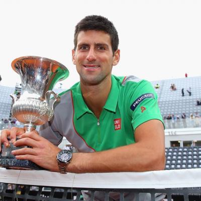 18MAYO2014 Rafa no pudo con Djokovic en el Foro Itálico. Foto: TenisWeb.