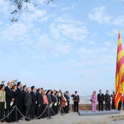 15OCTBRE2011 Tarragona celebrará los Juegos Mediterráneos 2017. Declaraciones del Presidente de la Generalitat en el 71º aniversario del fusilamiento del presidente Lluis Companys. Foto: Gencat.