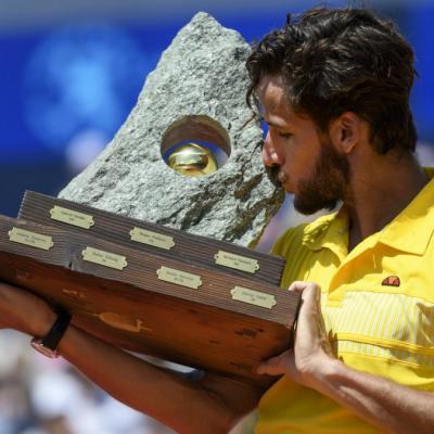 24JULIO2016 Feliciano López gana en Gstaad. Foto: Agencia.