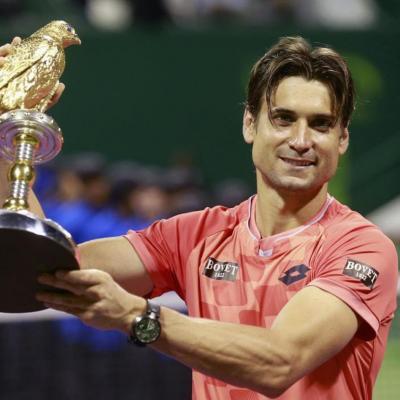 10ENERO2015 Doha triunfo de dobles e individual. Foto: Agencia.