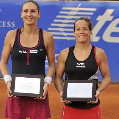 03MARZO2013 Torneo de Acapulco, triunfo de Rafa Nadal. Ganadoras dobles Domínguez-Parra. Foto: Abierto México de tenis.