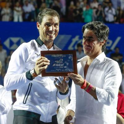 05MARZO2017 Rafa Nadal finalista en Acapulco. Foto: Torneo de Acapulco.