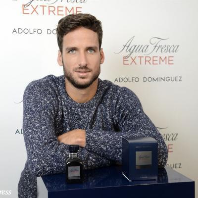 OCTUBRE2015 Feliciano López presenta Agua Fresca Extreme, la nueva fragancia masculina de Adolfo Domínguez.