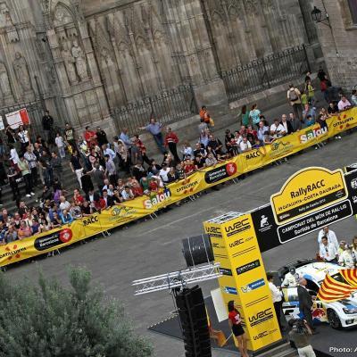 27OCTUBRE2013 Ogier campeón del Rally RACC y del Mundial. Salida.