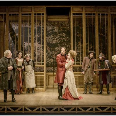 02FEBRERO2016 Joan Pera en el papel de Harpagon de la obra L'Avast de Molière. Foto: David Ruano.