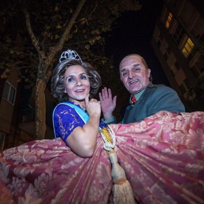 16OCTUBRE2013 Función especial para presentar la vuelta de la obra La Familia Irreal. Foto: Albert Manau.