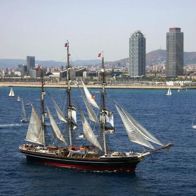 24SEPTIEMBRE2013 Mediterranean Tall Ships Regatta en Barcelona, del 21 al 24. Foto: FNOB..