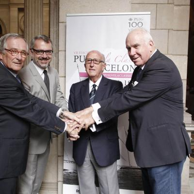 03JULIO2014 Puig reúne en Barcelona a la élite de la vela clásica con motivo de su 100 Aniversario. Foto: Montse Carreño.