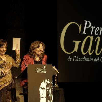03ENERO2014 Nominaciones a los premios Gaudí de cine. lolo Herrero, Lluïsa Castell e Isona Pasola. Foto: Paco Amate.