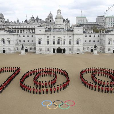 19ABRIL2012 Imagen de la celebración en Londres de los JJOO, a falta de 100 días. Foto: Agencias.
