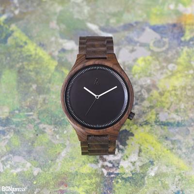 22SEPTIEMBRE2015 MAM Originals presenta su primera línea de relojes de fusta diseñados en Barcelona.