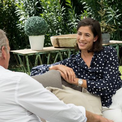"07OCTUBRE2017 Garbiñe Muguruza en el programa de ""Mi casa es la tuya"". Foto: Mediaset."