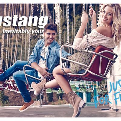 13FEBRERO2014 Patricia Montero y Maxi Iglesias imagen de Mustang para la nueva campaña.