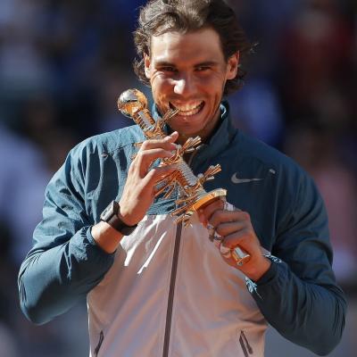 12MAYO2013 Nadal se da un paseo en la final del Masters 1000 de Madrid. Foto: Tenis Web.