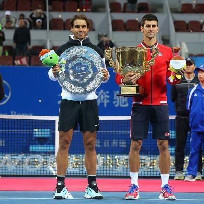 11OCTUBRE2015 Rafa Nadal pierde la final del Torneo de Pekín ante Djokovic. Foto: TenisWeb.
