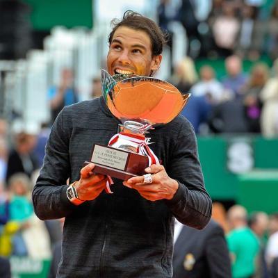 23ABRIL2017 Nadal se corona otra vez en Montecarlo. Foto: Monte-Carlo Rolex Masters.
