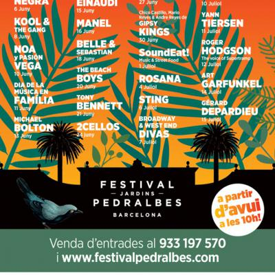 ABRIL2017 V Festival Jardins  Pedralbes 2017.