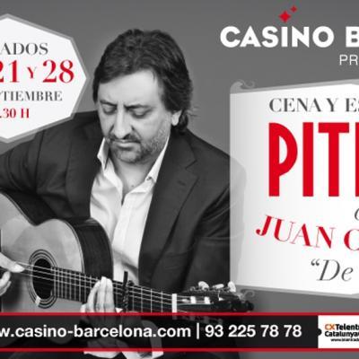 10SEPTIEMBRE2013 Pitingo junto al maestro Juan Carmona actuarán en el Casino de Barcelona.