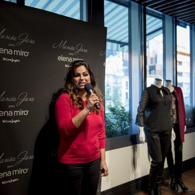 OCTUBRE2016 Marisa Jara presenta su colección cápsula para Elena Miró.