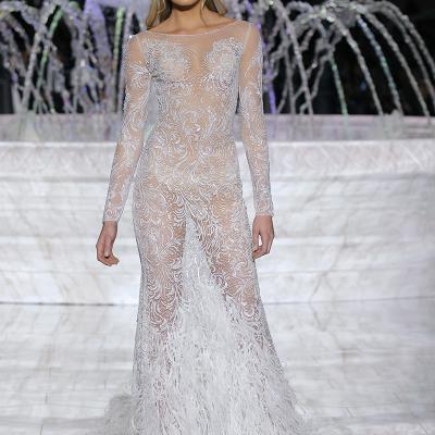 28ABRIL2017 Pronovias cerró la Barcelona Bridal Fashion. Foto: Ugo Camera.