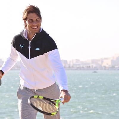 09ENERO2016 Rafa Nadal finalista en Dona. Foto: Facebook.