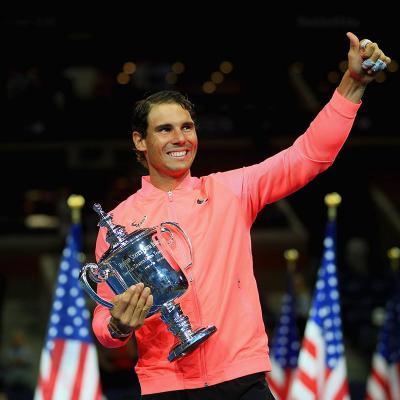 10SEPTIEMBRE2017 Exhibición de Nadal en el U.S.Open. Foto:TenisWeb.