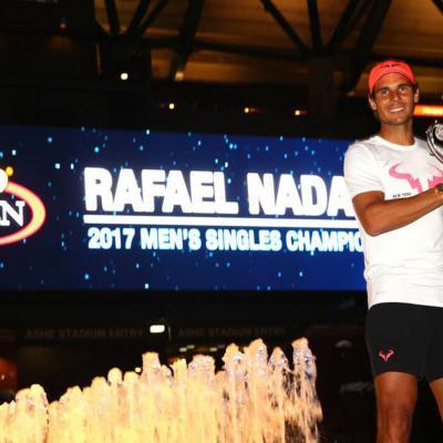 10SEPTIEMBRE2017 Exhibición de Nadal en el U.S.Open. Foto: TenisWeb.