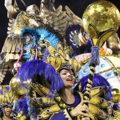Rosas de Ouro Samba School at Carnaval 2011 in São Paulo. Foto: Caio Pimenta/SPTuris