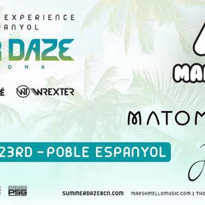 17JUNIO2016 Nace  Summerdaze, un nuevo festival de música electrónica al aire libre.