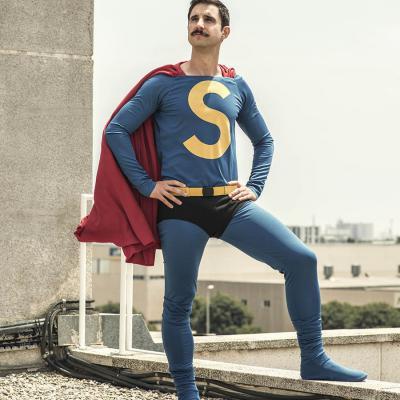 JULIO2017 Dani Rovira es 'Superlópez' en su nueva película.